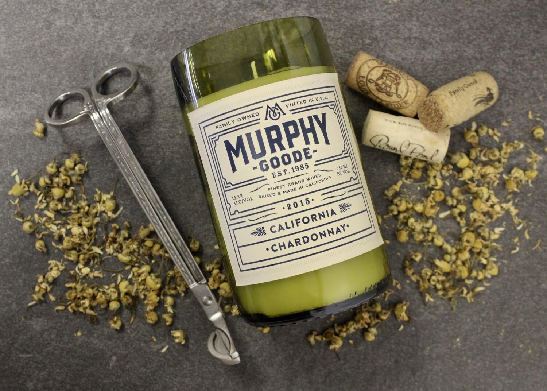 Murphy Goode Chardonnay Candle