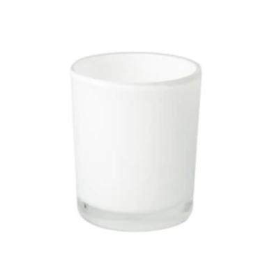 12.5 oz. White Blank + Empty Jar