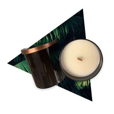 Black Tumbler Candle Package