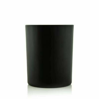Medium Black Matte Blank + Empty Jar