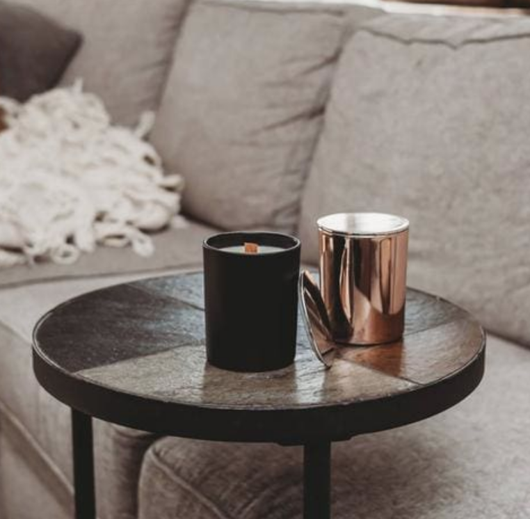 Black Matte Tumbler Candle Package