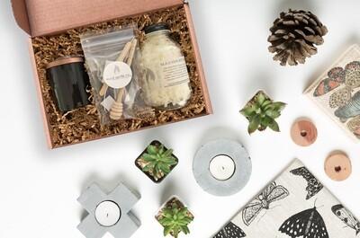 Black Jar Candle Making Kit Set of 12