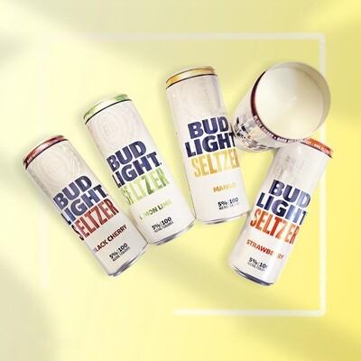 Bud Light Seltzer Candle