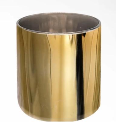 Lustrous Gold Candle Vessel