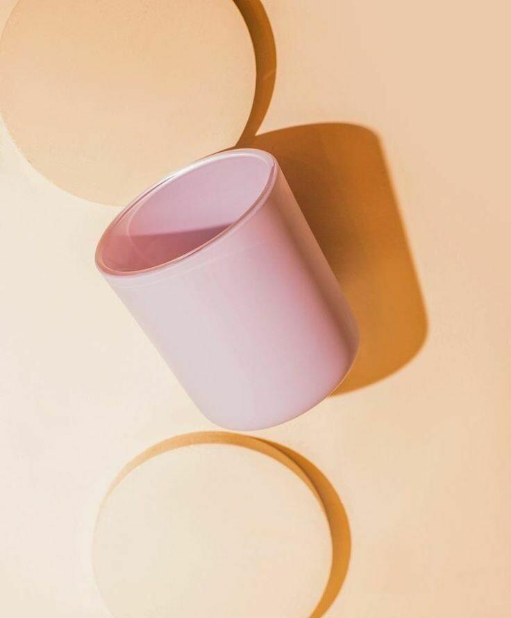 Matte Lilac Candle Vessel