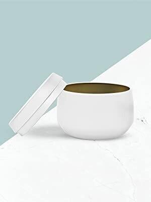 Elegant 4oz Tin Candle Blank