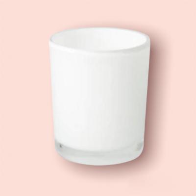 10 oz White Blank + Empty Jar