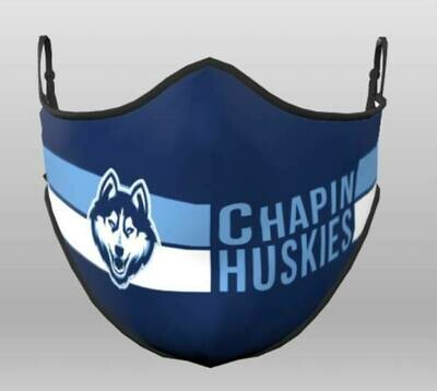Huskies Face Mask