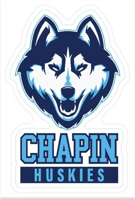Chapin Huskies Car Decal
