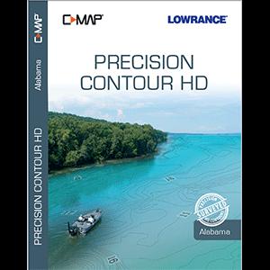 C-MAP Precision Contour HD Chart for Alabama
