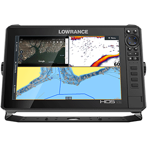 HDS-12 LIVE with Active Imaging 3-in-1 Transom Mount & C-MAP Pro Chart
