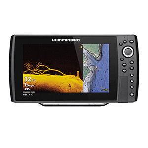 HELIX 10 CHIRP MEGA DI Fishfinder/GPS Combo G3N with Transom Mount Transducer
