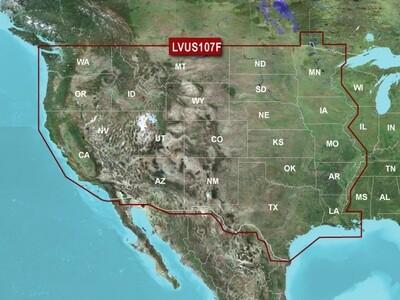 LakeVu g3 Ultra U.S. - West