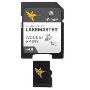 LakeMaster Chart - Woods/Rainy - MicroSD/SD