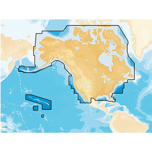 Navionics+ All US & Canada - Marine & Lakes
