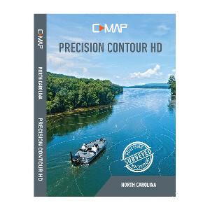 C-MAP Precision Contour HD Chart - North Carolina
