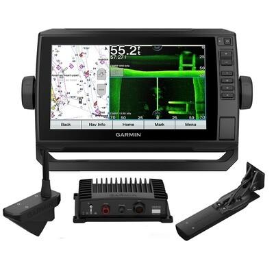 ECHOMAP UHD 93sv Combo GPS/Fishfinder Livescope Bundle - Preloaded US LakeVu g3 with GT56UHD-TM