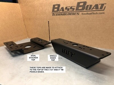 TBigfoot - Over The TM Pedal Dual Stack Mount - Top Plate Only