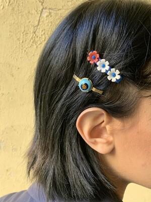 Vintage 1960s Brass Hair Clip Hair Barrette
