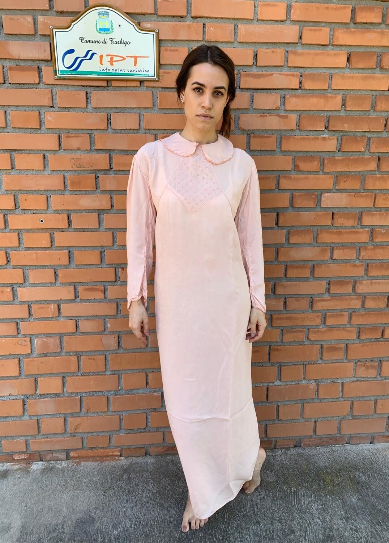 Vintage Silk Baby Doll Slip Dress