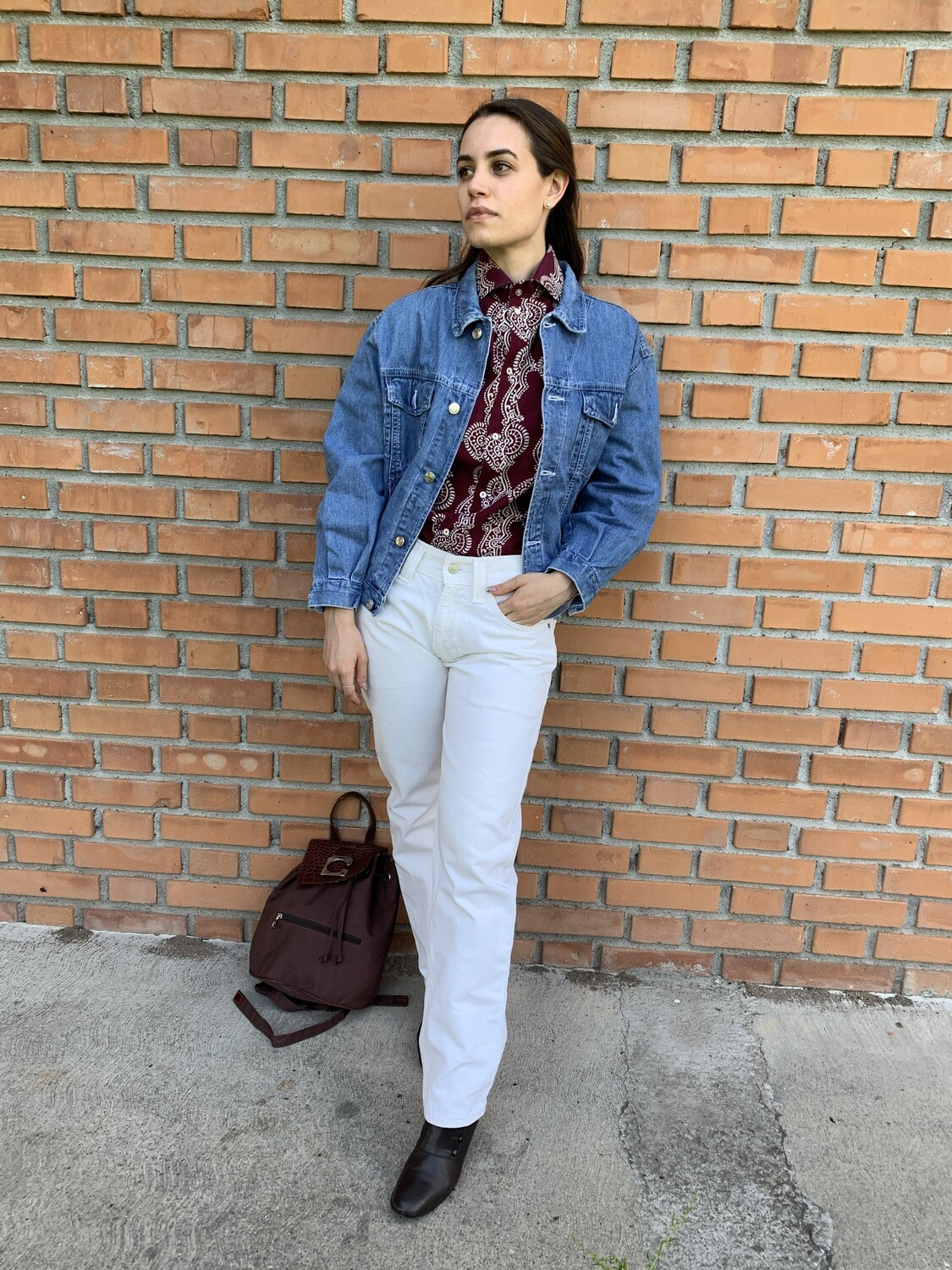 Vintage Levi's 505 jeans in white W29