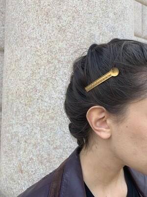 Vintage 80's Hair Barrettes Hair Clips Set