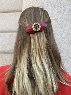 Vintage 60's Hair Barrettes Hair Clip