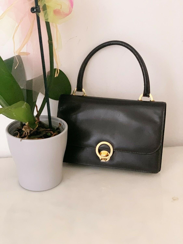 Vintage 1960 Mini Purse Handbag in Brown