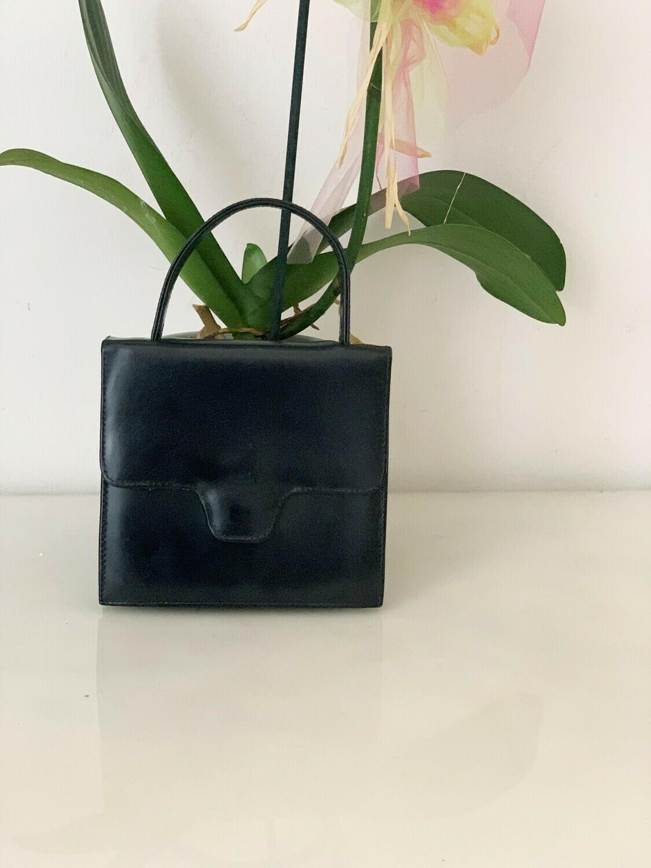 Vintage 1960 Mini Purse Handbag in Blue