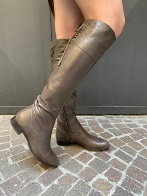 Vintage high knee leather boots EU 38 UK 5 US 7
