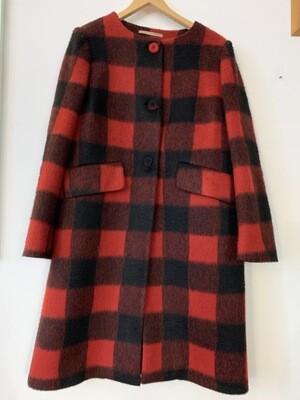 Vintage Grunge Wool Coat