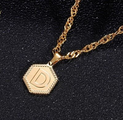 A-Z Stainless Steel Necklace Jewelry