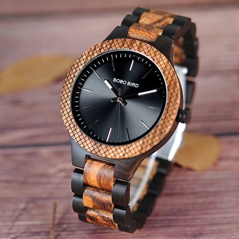 High Quality Wood Watch | Classic Timeless Piece 2020