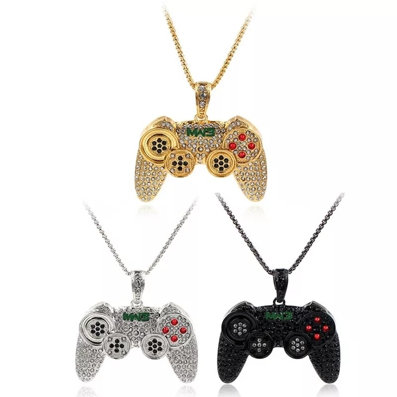 Iced out game controlla Pendant chain for male and female