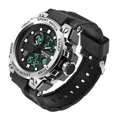SANDA 739 Military Quartz Watch | Waterproof S Shock
