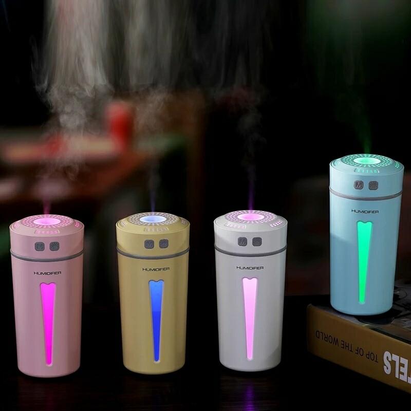 260ml Air Purifier LED Night Light Humidifier