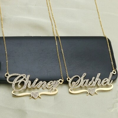 Stylish Custom Name Necklace Jewelry