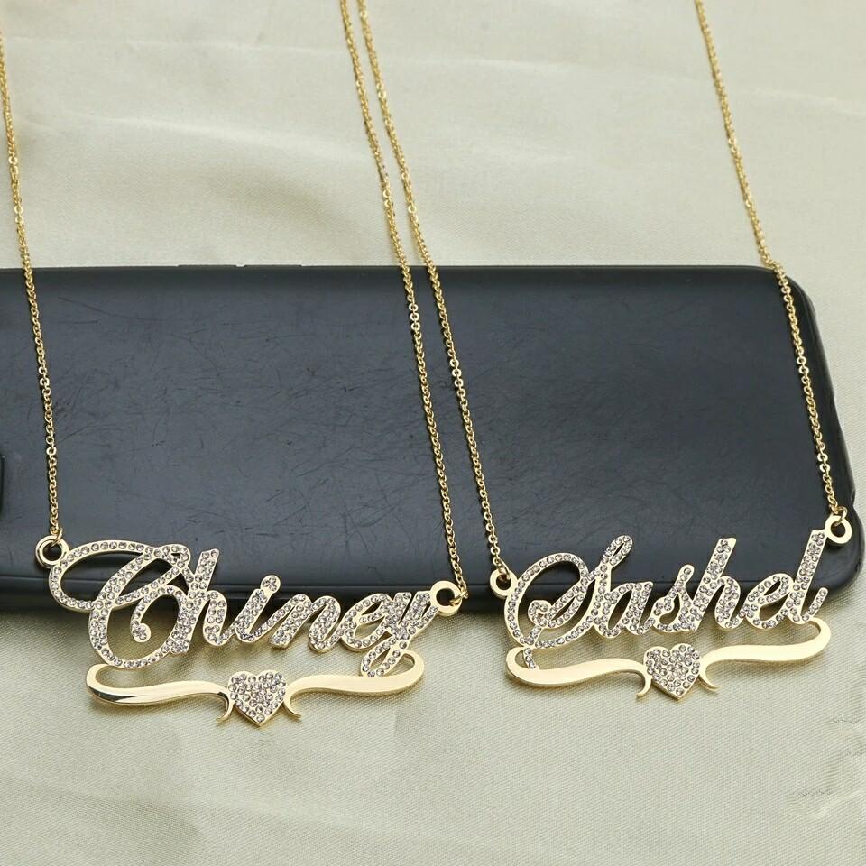 Stylish Custom Name Necklace Jewelry