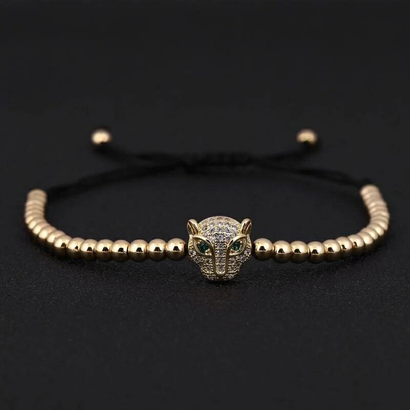 Leopard Head Bracelet