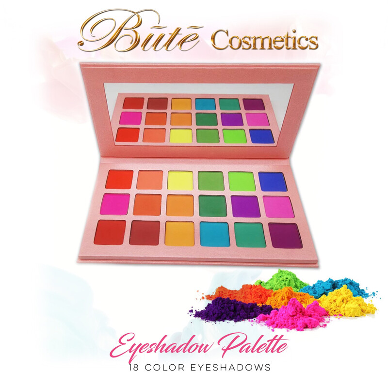 18 Color Matte Eyeshadow Palette