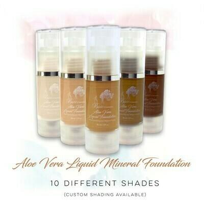 Aloe Vera Liquid & Mineral Powder Foundation