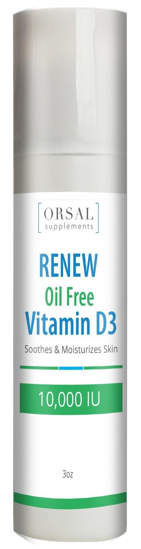 Renew - Vitamina D3 10,000 IU