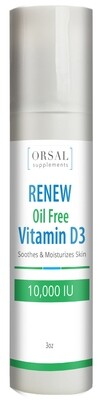 Renew - Vitamina D3 10,000 IU