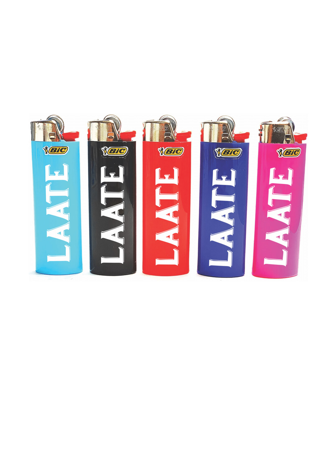 Printed Bic lighters