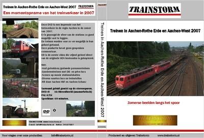 Treinen in Aachen - Rothe Erde 2007