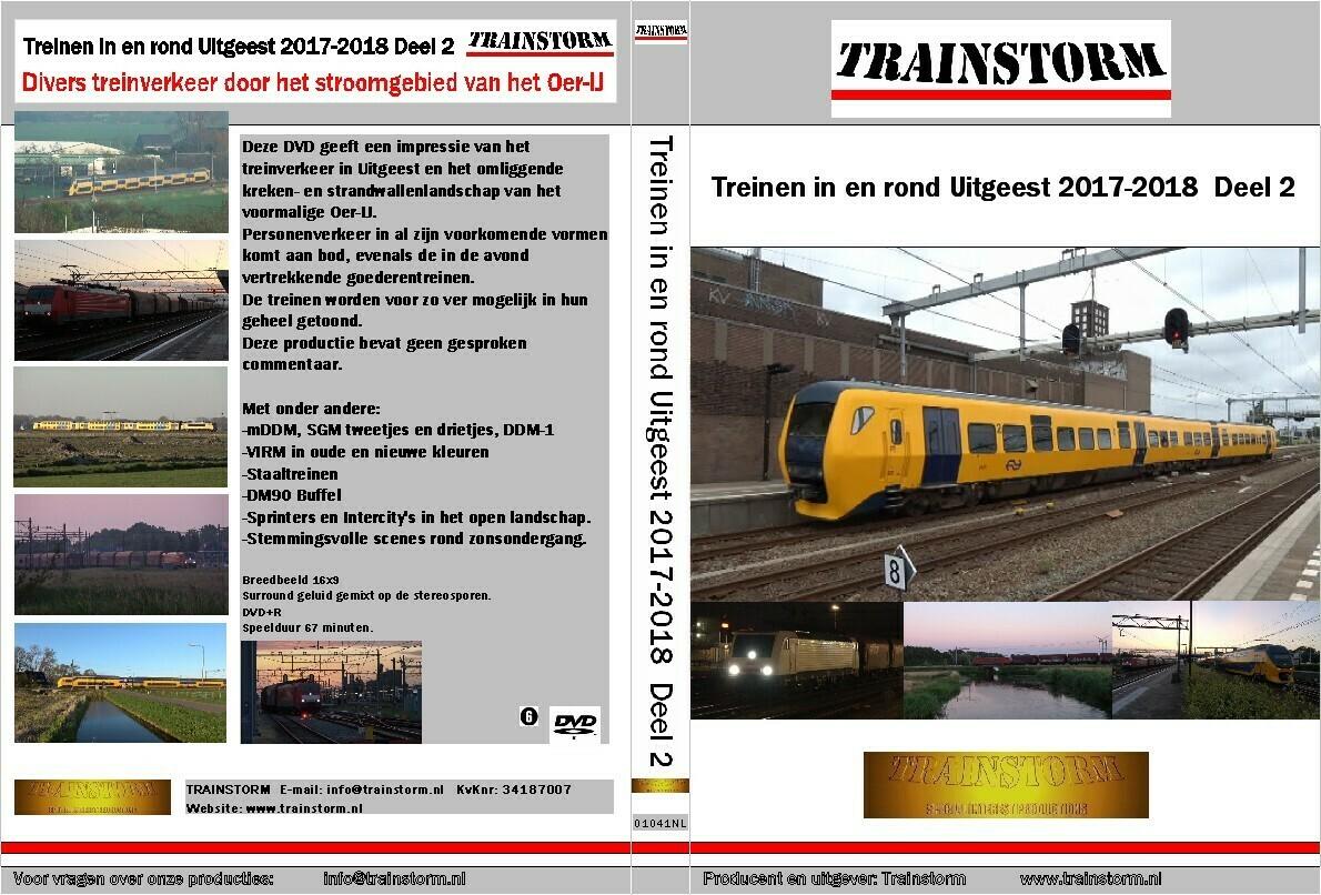 Treinverkeer in en rond Uitgeest 2017-2018            deel 2