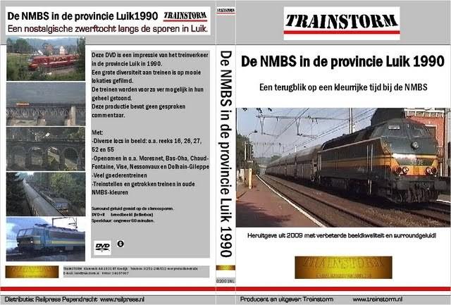 De NMBS in de provincie Luik 1990