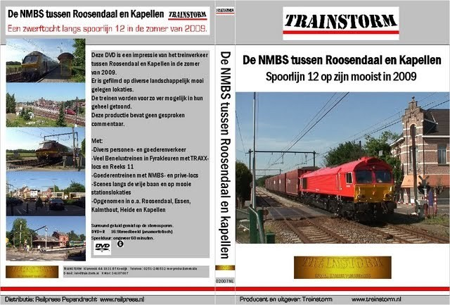 De NMBS tussen Roosendaal en Kapelle 2009