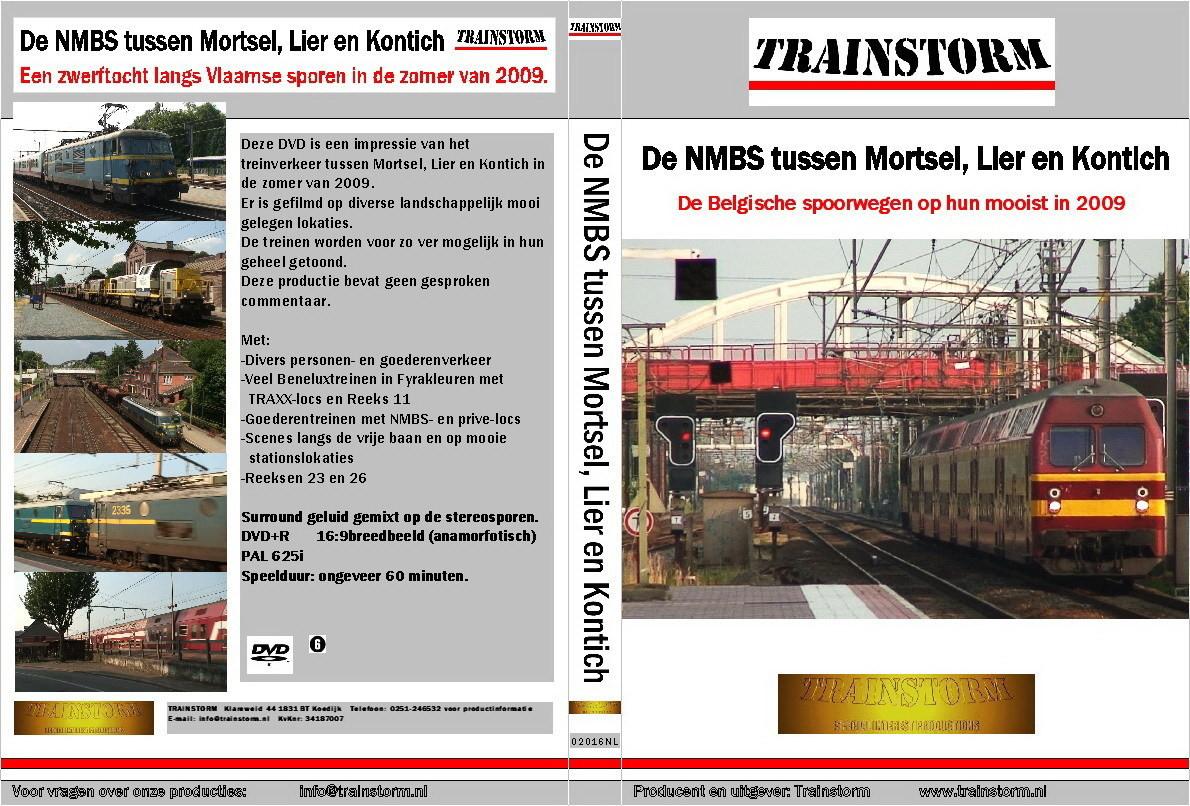 De NMBS tussen Mortsel, Lier en Kontich