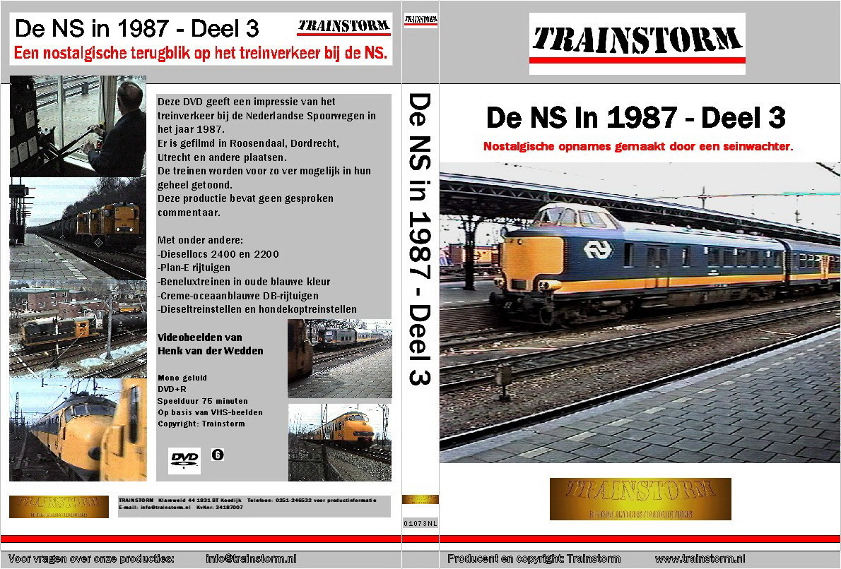 De NS in 1987 deel 3